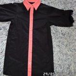 Рубашка туника новая унисекс на рост от 125 до 145см