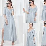 Красивое летнее платье в пол. Размеры 42-44 S 44-46 M 46-48 L .