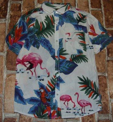 рубашка хб лето Фламинго 7 лет Некст Сток большой выбор одежды 1-16лет