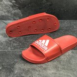 Мужские шлепанцы Adidas red