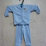 DOREMI Турция Пижама р.1-Д Детская голубой, хлопок 100%, Дореми, девочка мальчик качественный.