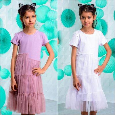 e0c121436b06074 Летнее подростковое платье с фатином р.34-42: 385 грн - платья и ...
