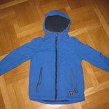 Фирменная куртка на флисе NEXT на 8лет на рост 128см