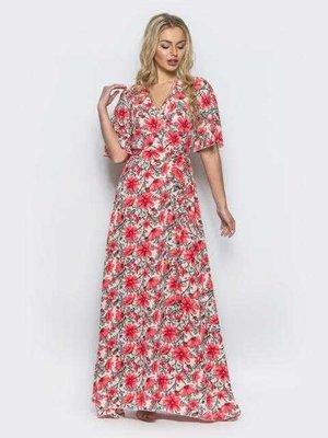 Платье-Халат с запахом Ткань софт Размер 42 5729eeca7db6c