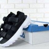 FILA Disruptor Sandals, мужские сандали Фила черные