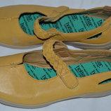 Мокасини туфли балетки Hotter Англия кожа р 42 41 мокасіни туфлі шкіра