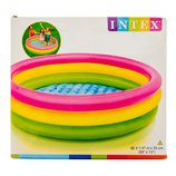 Детский надувной бассейн «Красочный» Intex