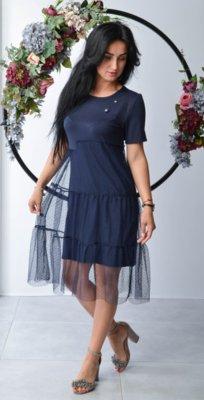 7f7a9903320 Нарядное летнее платье Надежда код 5758  370 грн - повседневные ...