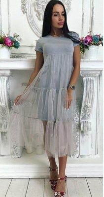 Платье с фатином комплект фемели лук с фатином комплект мама дочка