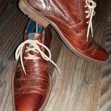 Стильные ботинки Jones Bootmaker, оригинал, кожа.