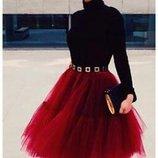 Фатиновая юбка пыная