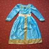 Продаю 5-6 лет Карнавальное платье Мерида, Храбрая сердцем, Disney, б/у.