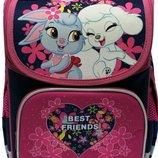 Комплект для девочки. Рюкзак, пенал, сумка для сменной обуви и физкультуры. Канцтовары