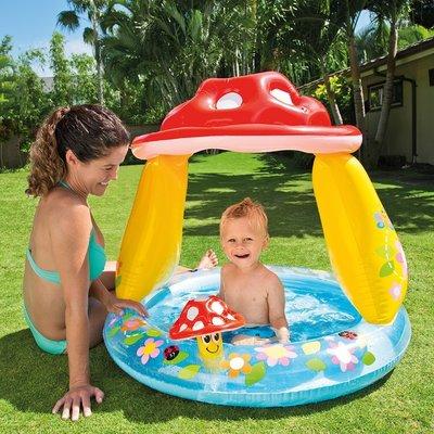Надувной детский бассейн Интекс 57114 надувное дно
