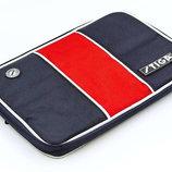 Чехол на ракетку для настольного тенниса Stiga Stripe 884901 размер 30х21см