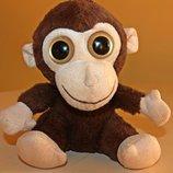 обезьянка,глазастик 19см-оригинал