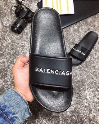Тапки шлепанцы мужские Balenciaga Black