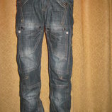 модные Новые МужскиеДжинсы, дополнительные карманы Р.28,29,30,31,32,