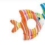 Круг надувной 59223 Рыбки винил 3-6 лет 83 81 см