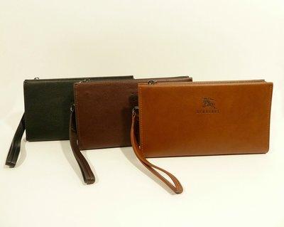 Клатч мужской кожаный 1222 светло-коричневый, расцветки в наличии