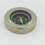 Компас магнитный в металлическом корпусе LP-57 диаметр 60мм металл, пластик
