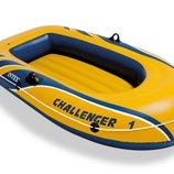 Лодка одместная надувная Challenger 1 Intex 68365