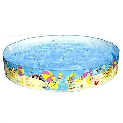 Детский каркасный наливной бассейн Intex 56451, размер 152-25 см