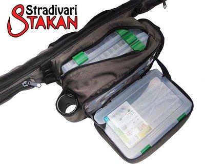 Усовершенствовали многофункциональную поясную сумку для удилища Stakan Stradivari ideaFisher