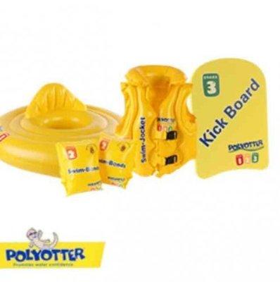 Фирменный жилет для купания на 3-6 лет Polyotter