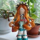 Интерьерная кукла ручной работы Марьяна