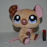Мышка мышонок пет шопы pet shop игрушки зоомагазин Littlest pet shop LPS Hasbro оригинал