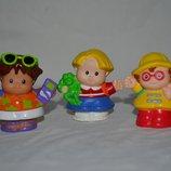Набор фигурок с набора самолет маленькие человечки Little People Fisher prise Литл пипл