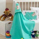 Полотенце с капюшоном, махровое полотенце для купания новорожденных