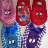 Теплые домашние тапочки-носочки
