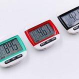 Шагомер электронный с клипсой 2979 количество шагов расстояние калории