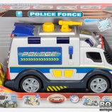 Полицейская машина со звуковыми и световыми эффектами Dickie toys
