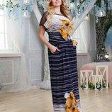 Платье 2 цвета 48,50,52,54,56 размеры