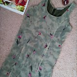 Каrma актуальное платье миди в цветочный принт m-l