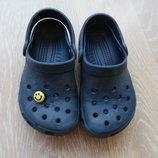 Кроксы детские 8-9 р стелька 14,5 см Crocs Крокс оригинал фирменные Италия