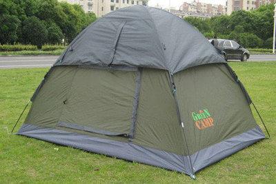 Палатка двухместная Green Camp 3005 - 2,1x1,5x1,3 м.