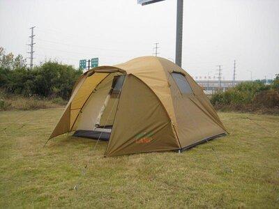 Палатка четырехместная Green Camp 1004 - 3,35х2,5х1,8 м.