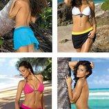 Пляжная юбка, одежда для пляжа, дополнение к купальнику