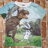 футболка Динозавр 6лет Урбан Сток большой выбор одежды 1-16лет