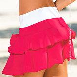 Пляжная юбка много ярких сочных расцветок