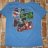 футболка Супергерои 7-8лет Дисней большой выбор одежды 1-16лет