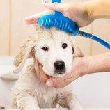 Щетка душ для купания собак