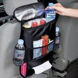 Органайзер - холодильник в авто. Органайзер - Термосумка на спинку сидвння автомобиля.