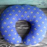 дорожная подушка лотос под шею для сна в поездке