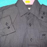 Рубашка черная VIKTOR р.29, 30