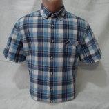 Мужская рубашка в клетку с коротким рукавом Canda.